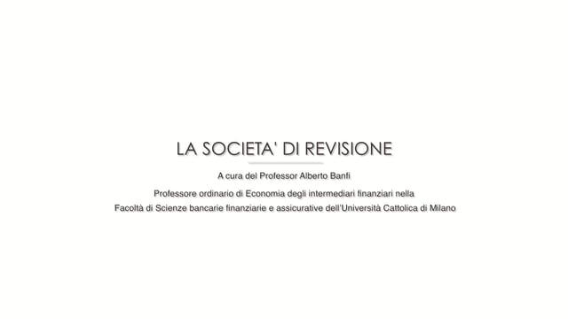 Società di revisione